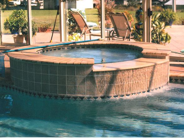 Built In Hot Tub Spa